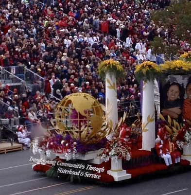 Tournament of Roses Parade Delta Sigma Theta Sorority Inc. Float     Credit: Gail Bowens