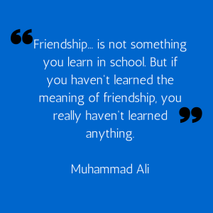 Friendship... is not something you learn-2